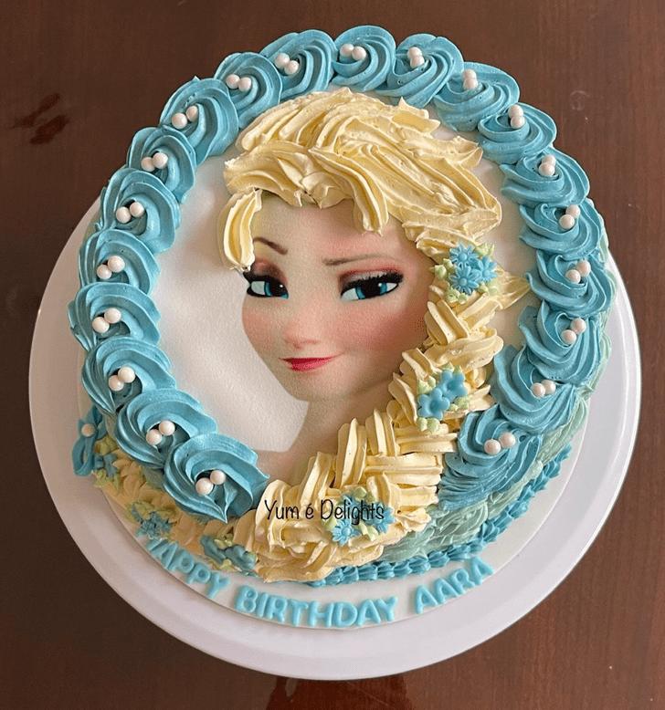 Shapely Disneys Elsa Cake