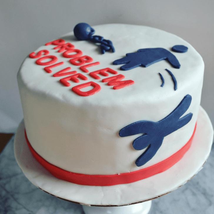 Adorable Divorce Cake