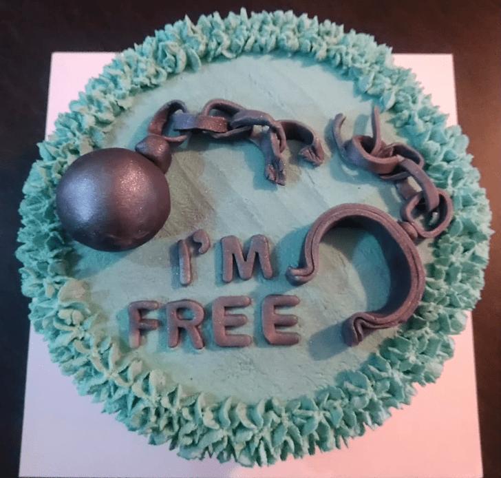 Bewitching Divorce Cake