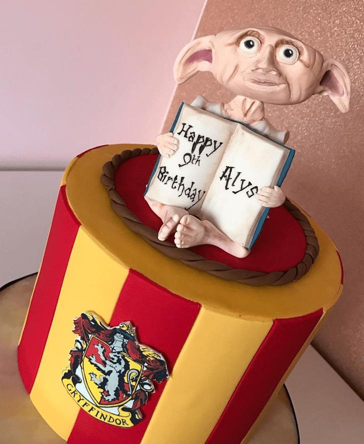 Alluring Dobby Cake