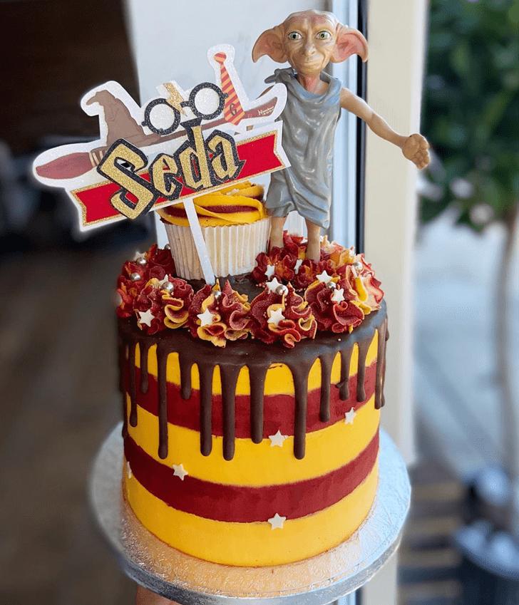 Angelic Dobby Cake