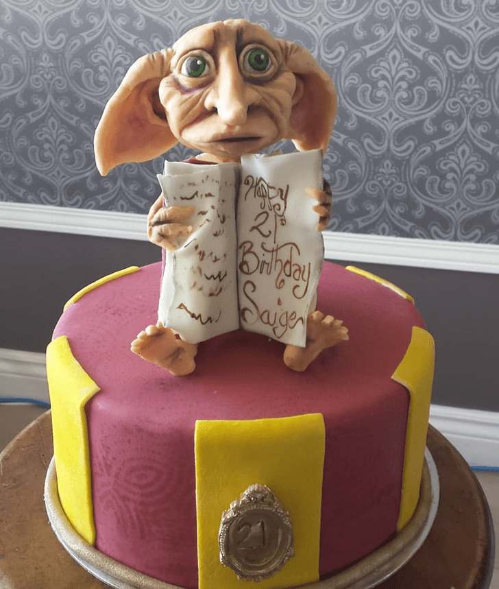 Dazzling Dobby Cake