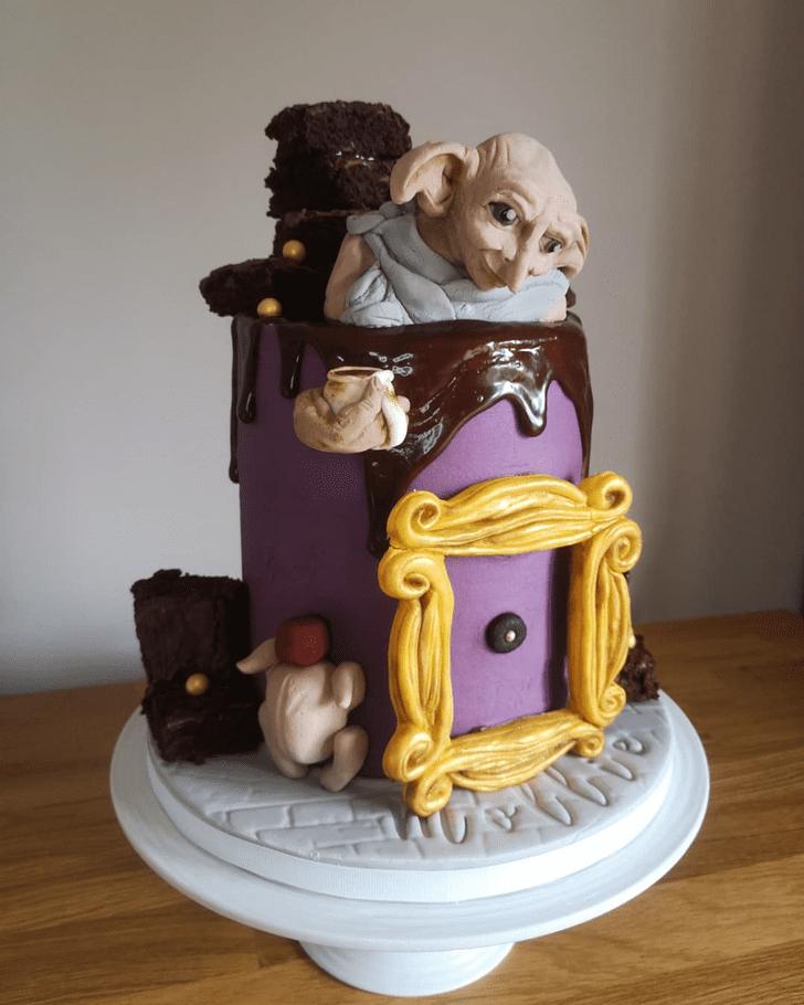 Delicate Dobby Cake
