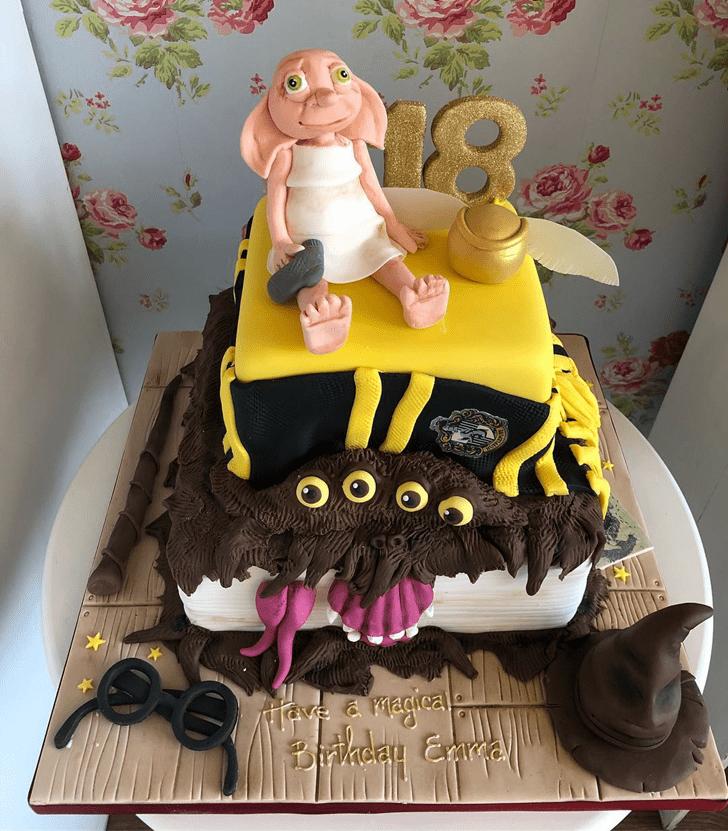 Graceful Dobby Cake