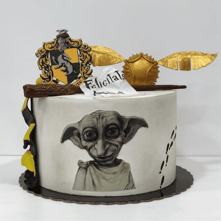 Shapely Dobby Cake
