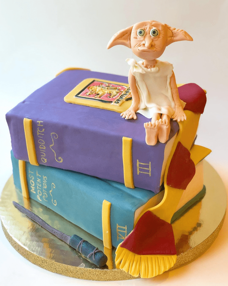 Wonderful Dobby Cake Design