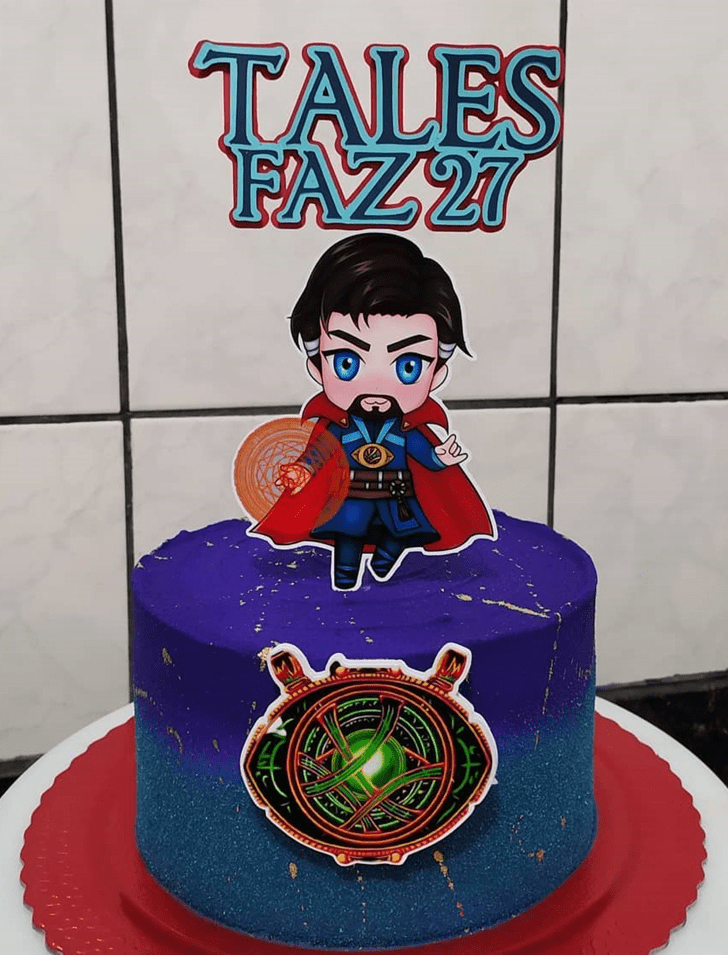 Angelic Doctor Strange Cake