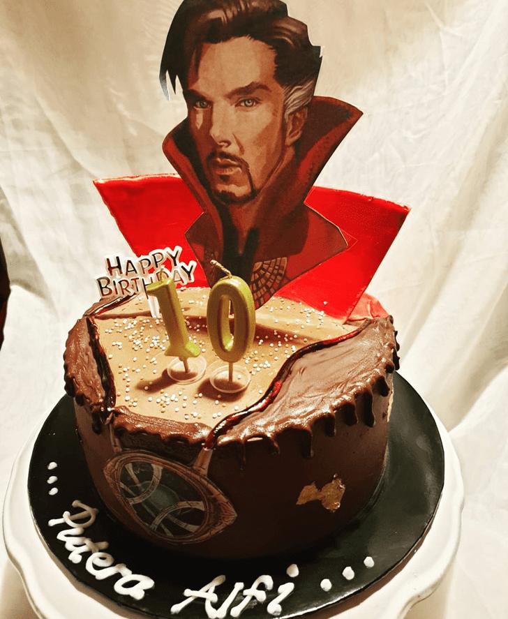 Classy Doctor Strange Cake