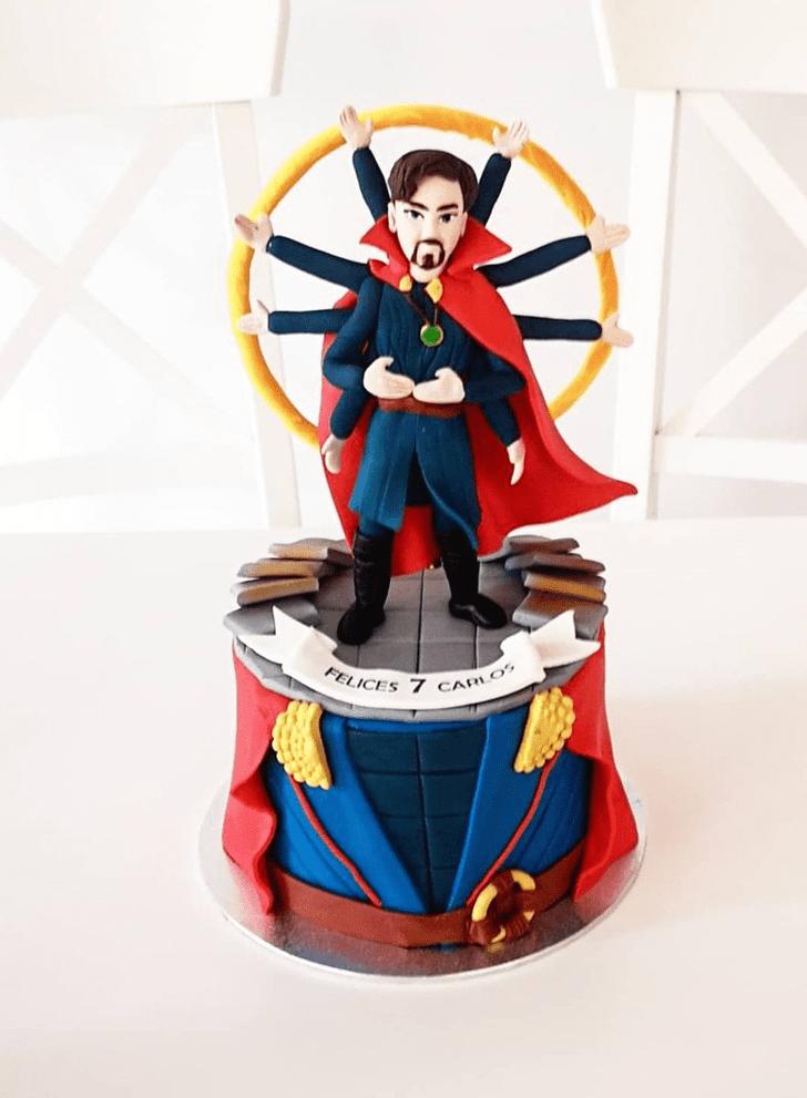 Cute Doctor Strange Cake