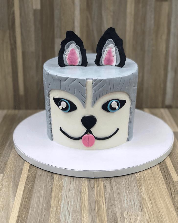 Appealing Dog Cake