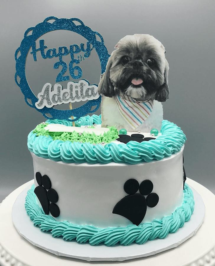 Delightful Dog Cake