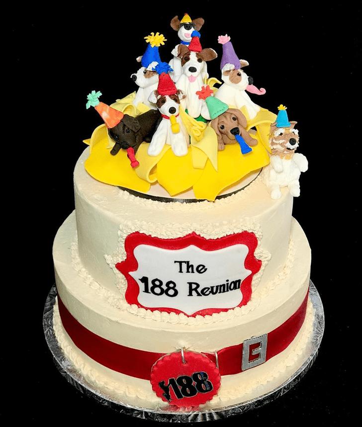Elegant Dog Cake