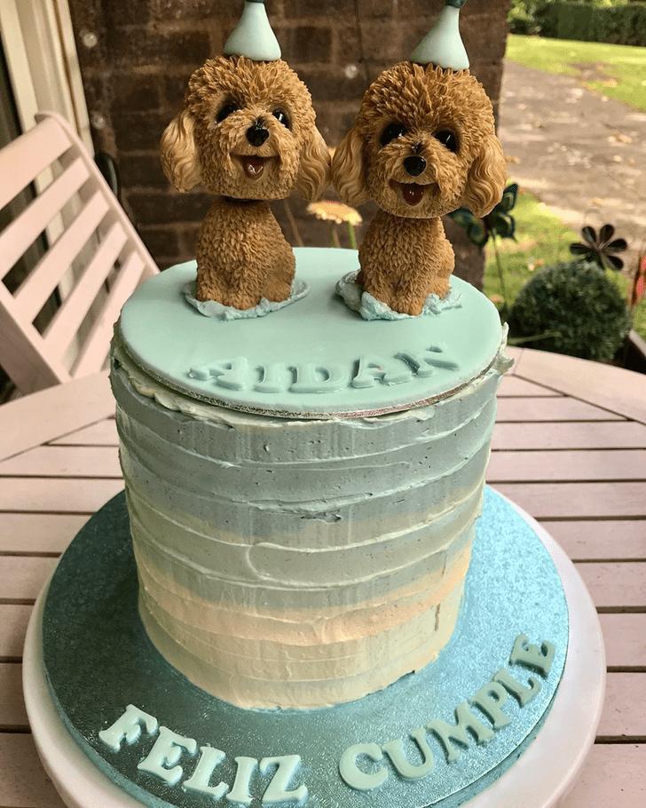 Enthralling Dog Cake