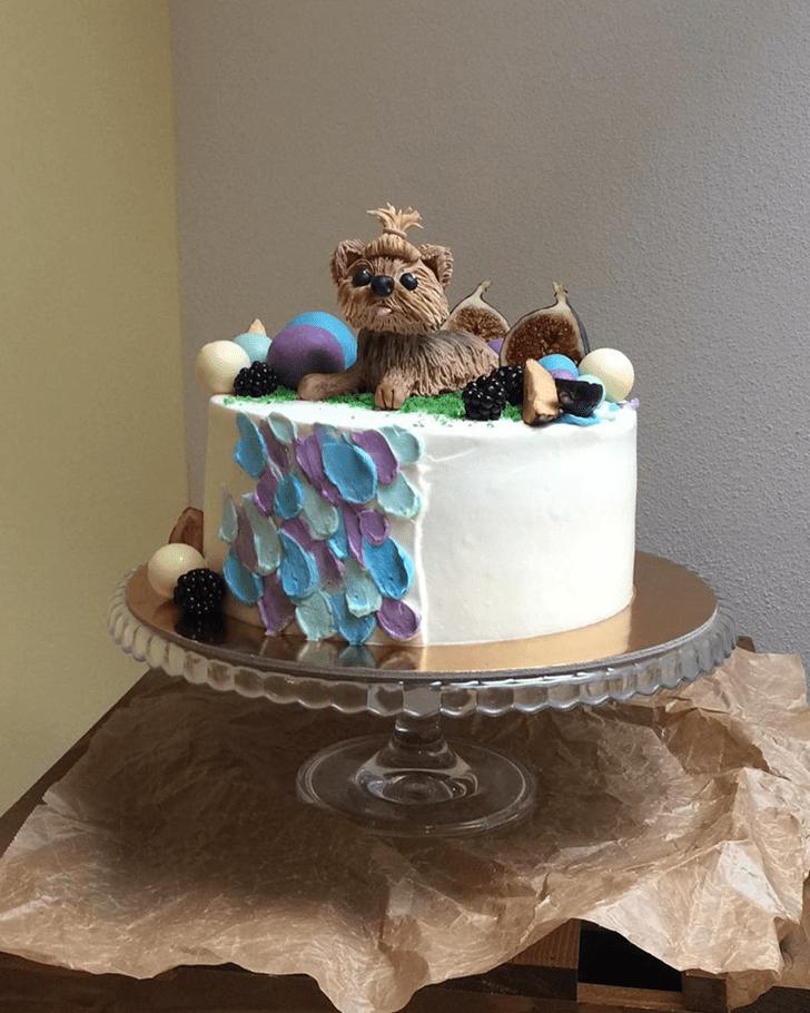 Fascinating Dog Cake
