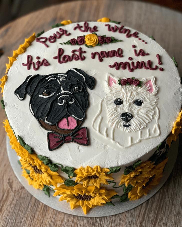 Fine Dog Cake
