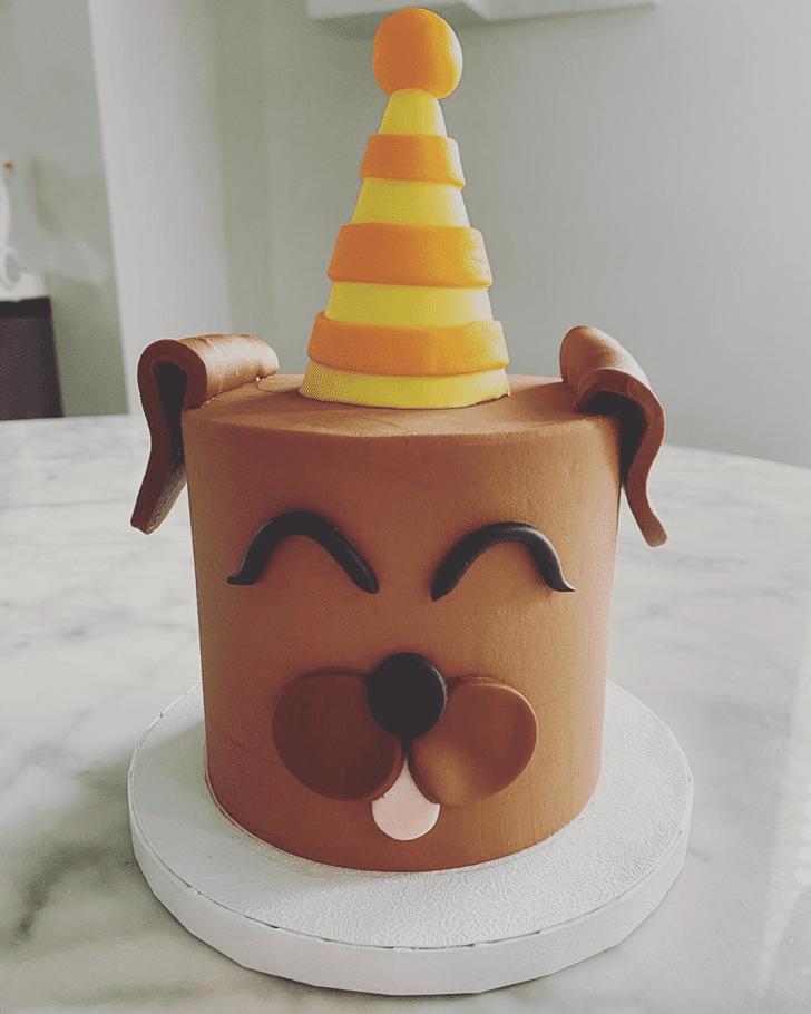 Lovely Dog Cake Design