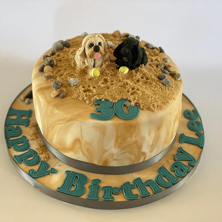 Pleasing Dog Cake