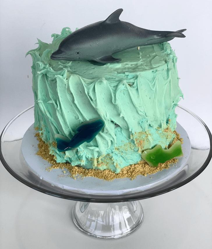 Angelic Dolphin Cake