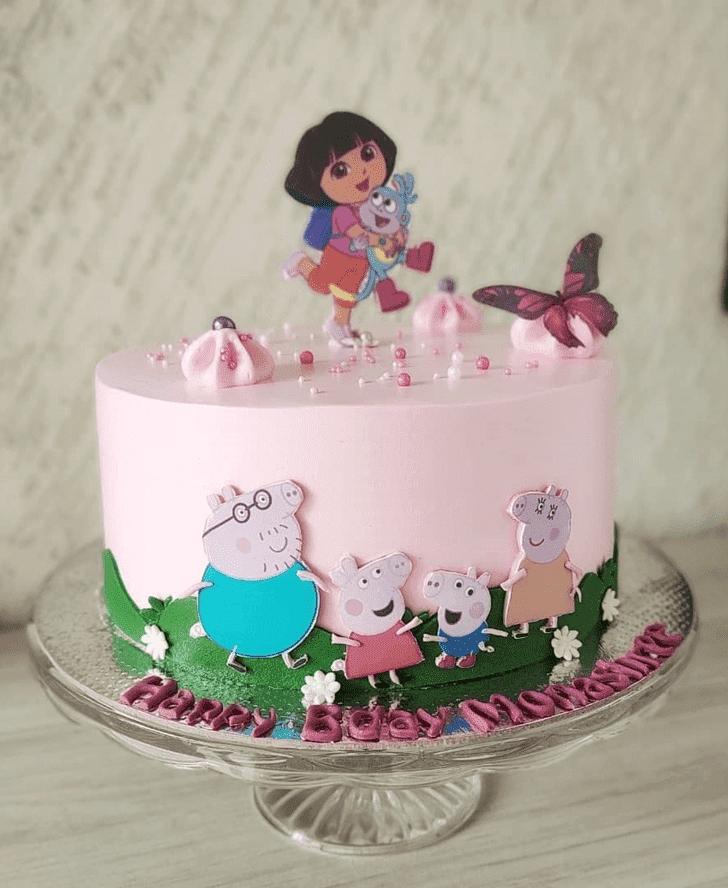 Adorable Dora Cake