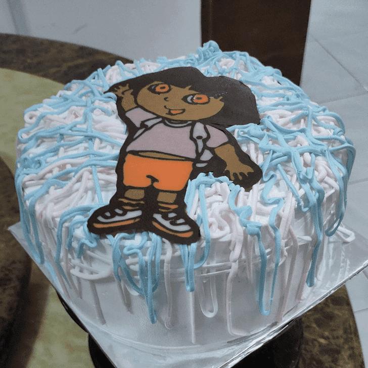 Captivating Dora Cake