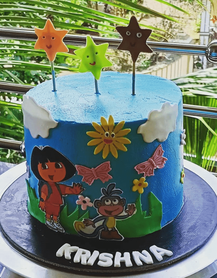 Charming Dora Cake