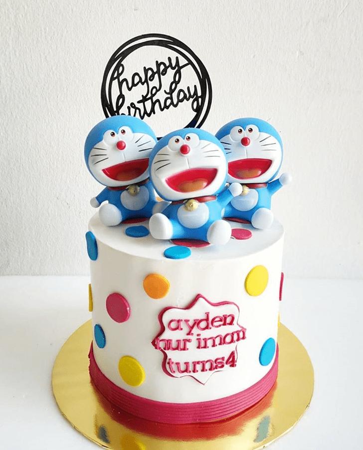 Alluring Doraemon Cake