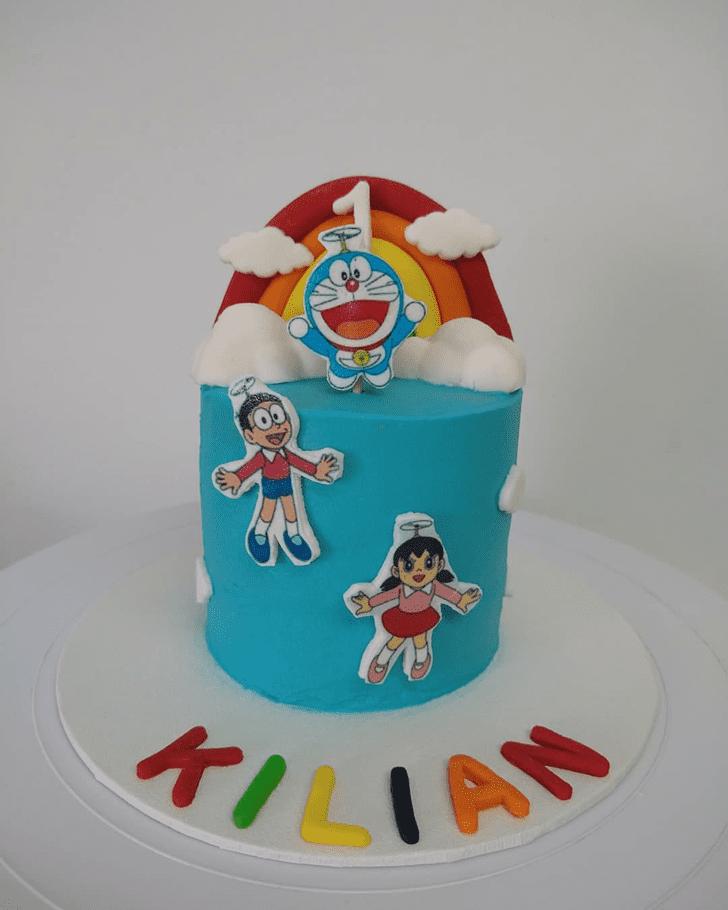 Bewitching Doraemon Cake