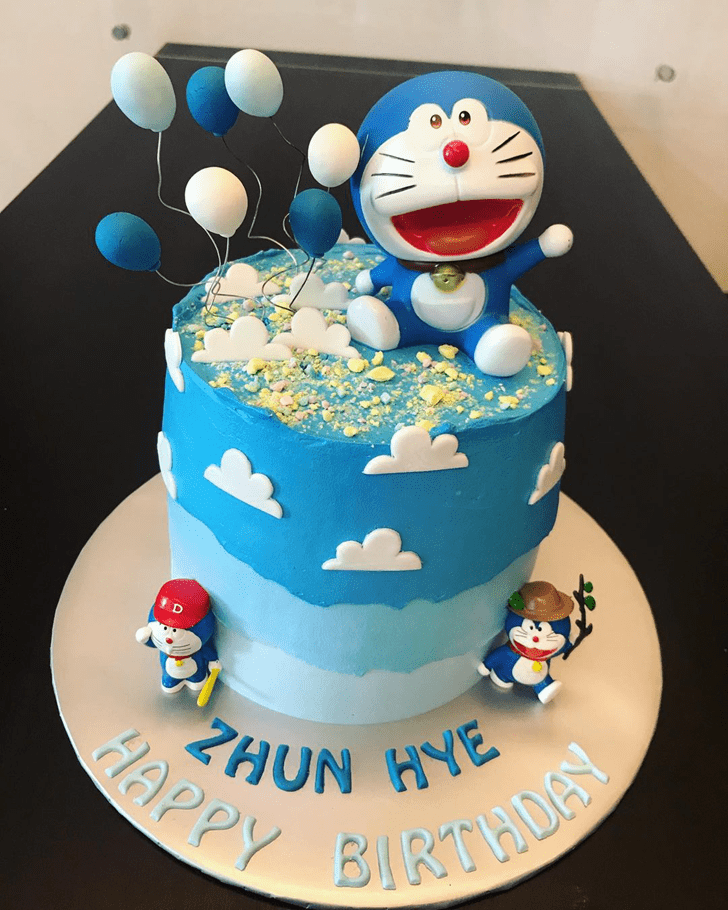 Captivating Doraemon Cake