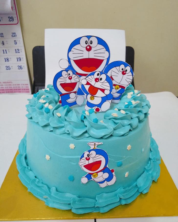 Charming Doraemon Cake