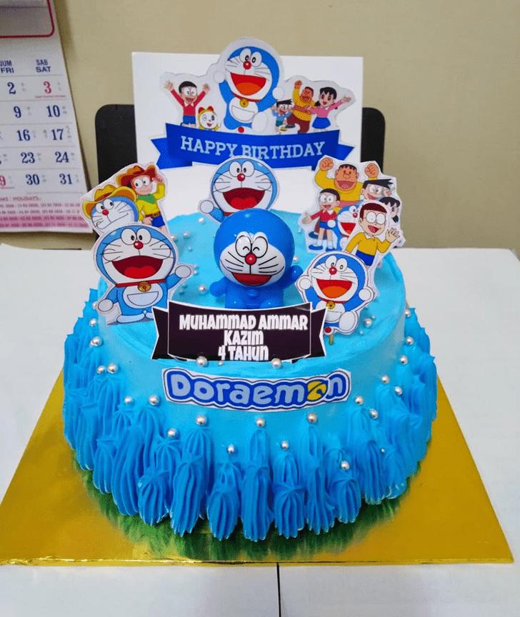 Comely Doraemon Cake