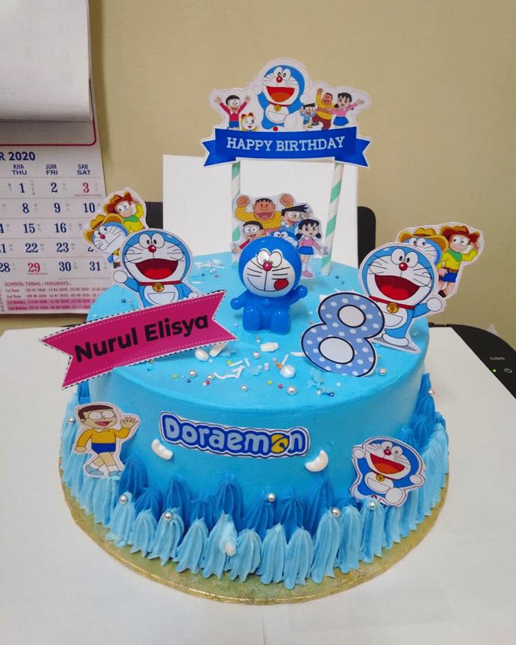 Cute Doraemon Cake