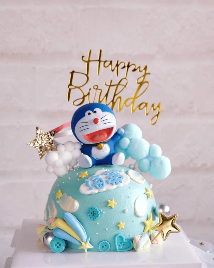Delightful Doraemon Cake