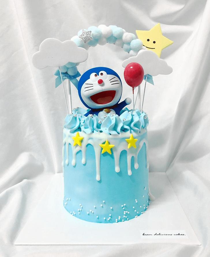 Divine Doraemon Cake
