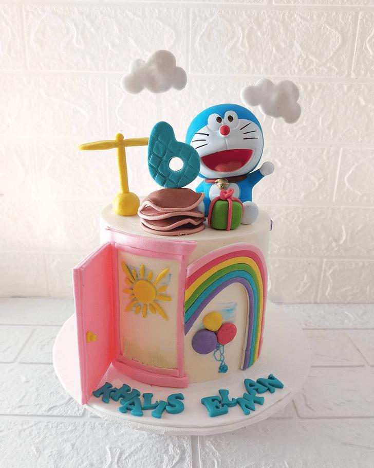 Elegant Doraemon Cake