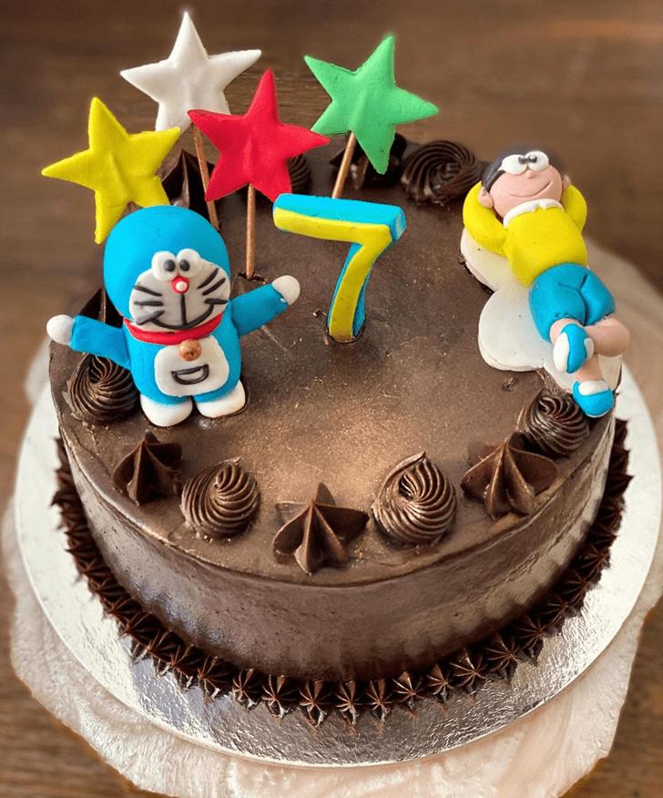 Enticing Doraemon Cake