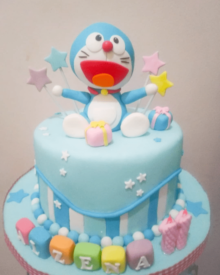 Excellent Doraemon Cake
