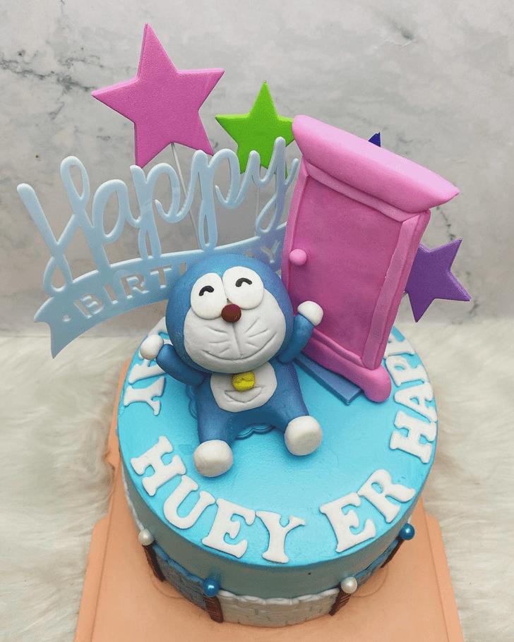 Exquisite Doraemon Cake