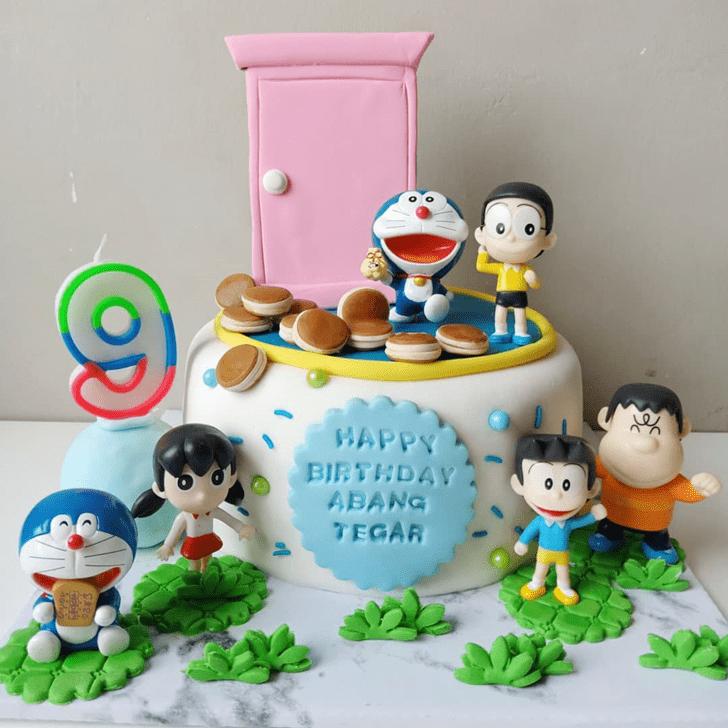 Fascinating Doraemon Cake