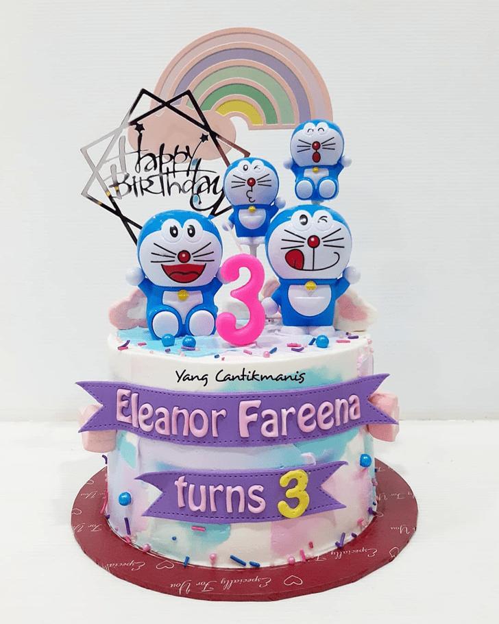 Good Looking Doraemon Cake