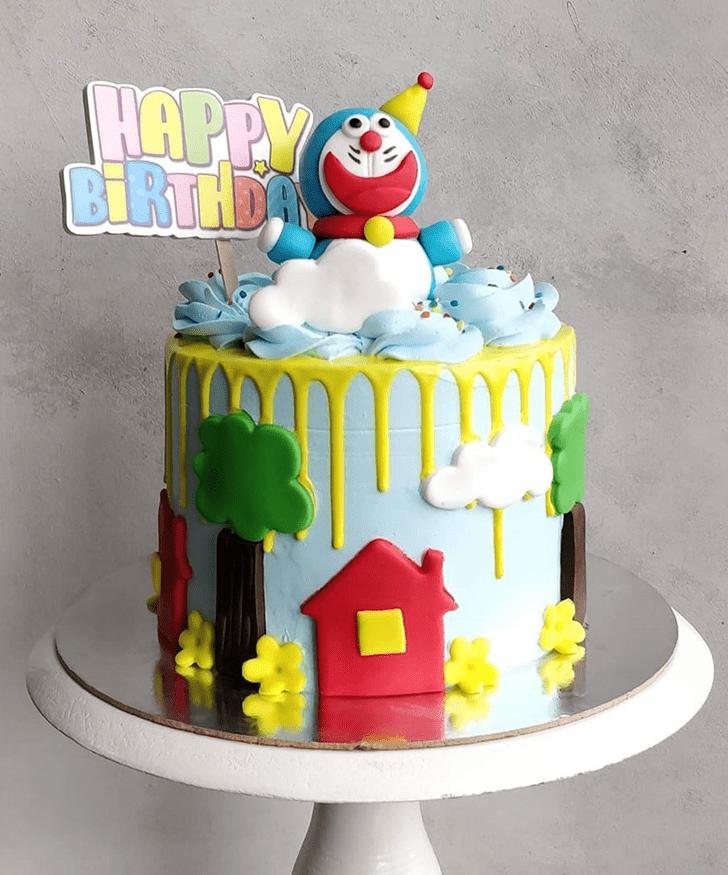 Gorgeous Doraemon Cake
