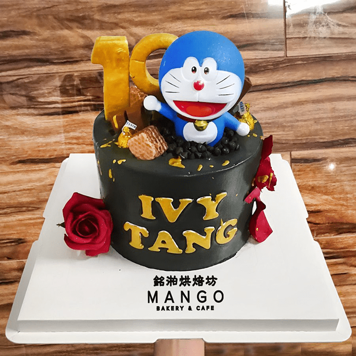 Handsome Doraemon Cake