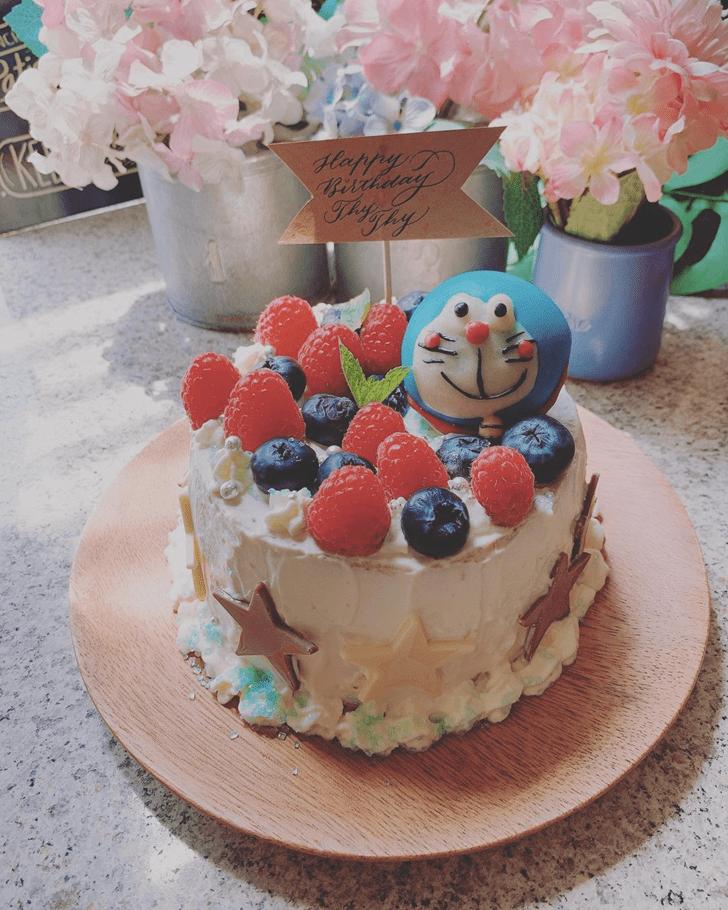 Ideal Doraemon Cake