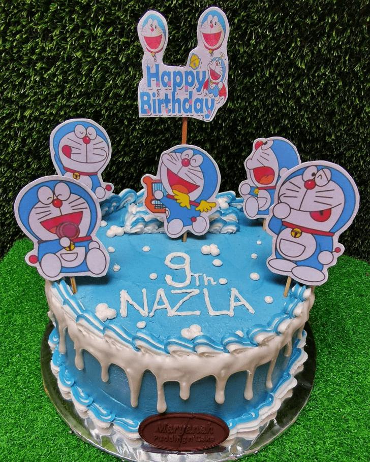 Inviting Doraemon Cake