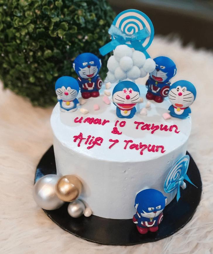 Marvelous Doraemon Cake