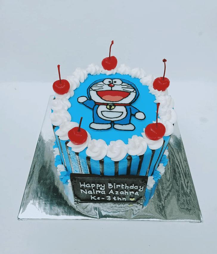 Mesmeric Doraemon Cake
