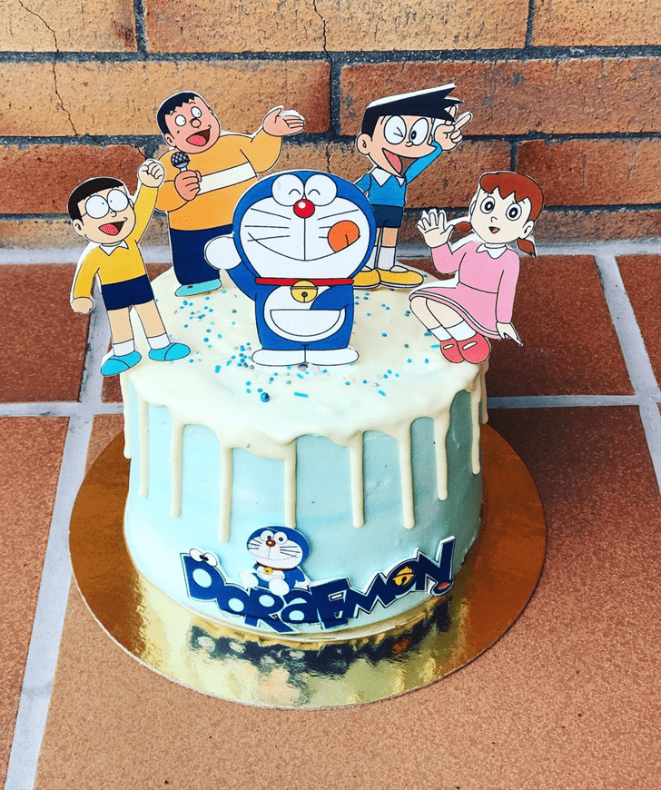 Nice Doraemon Cake