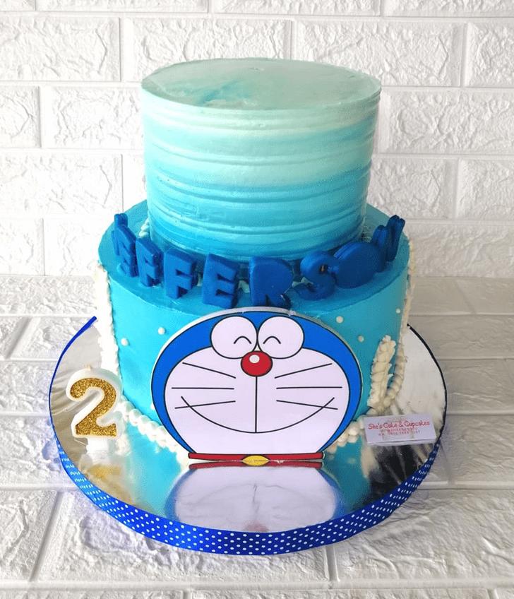 Resplendent Doraemon Cake