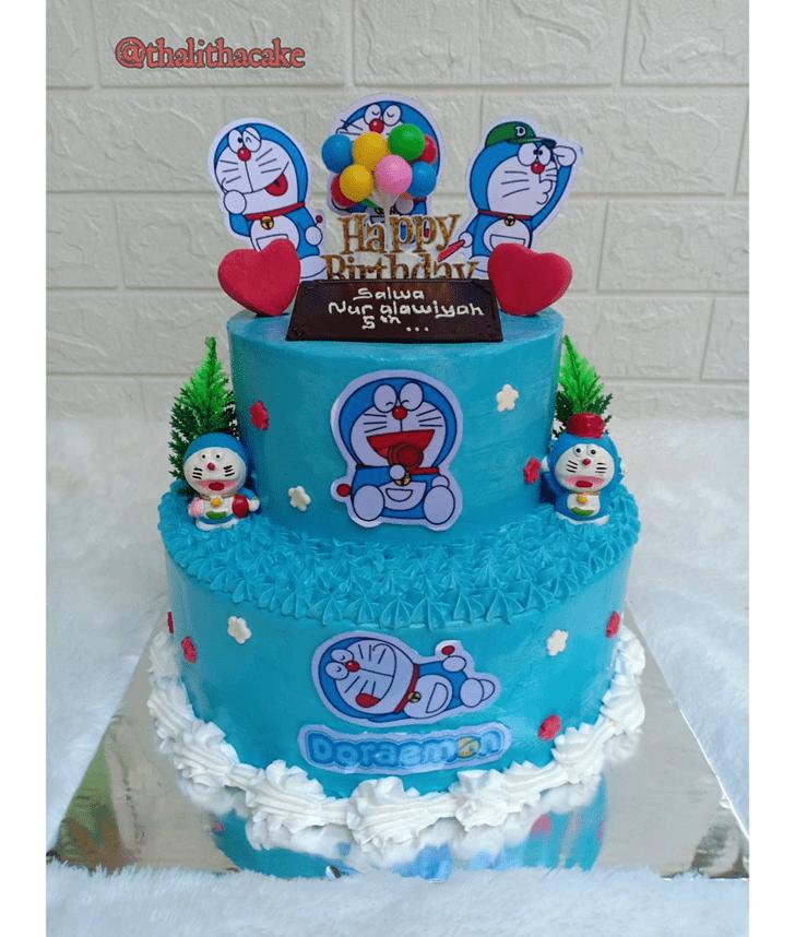 Slightly Doraemon Cake