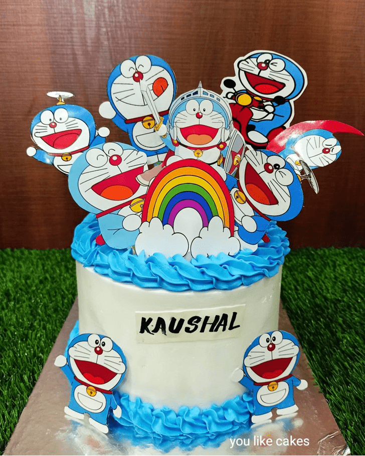 Superb Doraemon Cake