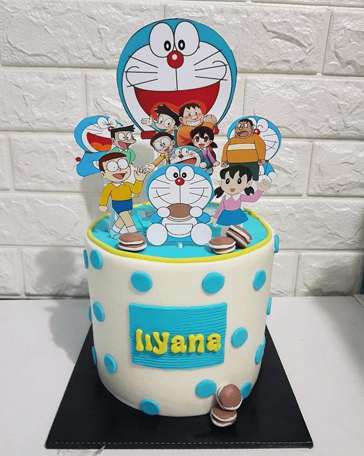 Wonderful Doraemon Cake Design